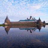 Solovetsky修道院 免版税库存照片
