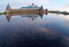 Solovetsky修道院 库存照片