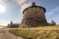 solovetsky的修道院 库存图片