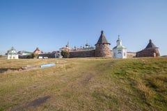 solovetsky的修道院 免版税图库摄影