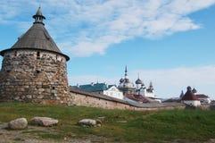 solovetsky的海岛 免版税库存图片
