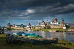 solovetsky的海岛 库存照片