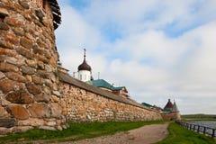 Solovetsky el Kremlin Imágenes de archivo libres de regalías