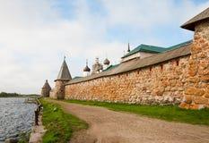 Solovetsky het Kremlin Royalty-vrije Stock Afbeeldingen