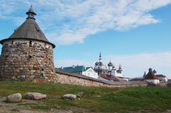 Solovetsky island Royalty Free Stock Images