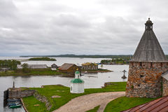 Solovetsky Islands Stock Photo