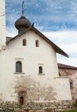 Solovetsky kloster Arkivbild