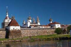 Solovetsky kloster Royaltyfria Foton