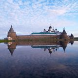 Solovetsky kloster Royaltyfri Foto