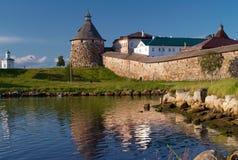 Solovetsky kloster Royaltyfria Bilder
