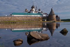 Solovetsky kloster arkivfoto