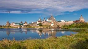 solovetsky kloster Arkivfoton
