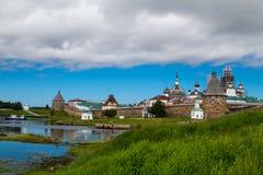 Solovetsky Kloster Stockfotografie