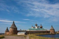Solovetsky Kloster, Russland stockfotografie