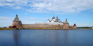 Solovetsky monastery. Russia, Arhangelsk region, Solovetsky Islands (Solovki) in the White Sea. Solovetsky Monastery was founded in the late 1420s. Today, the Stock Photos