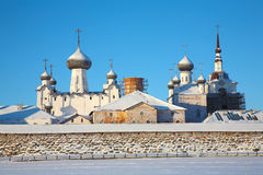 Solovetsky monastery. Royalty Free Stock Image