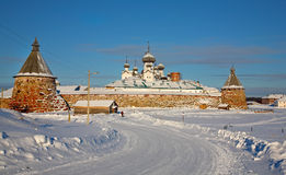 Solovetsky monastery Stock Photo