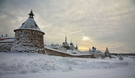 Solovetsky monastery. Royalty Free Stock Photos