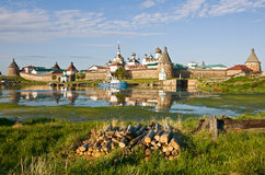 Solovetsky Monastery Royalty Free Stock Images