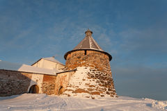 Solovetsky monastery Royalty Free Stock Image