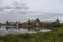 Solovetsky Monastery Stock Photography