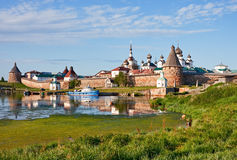 Free Solovetsky Monastery Royalty Free Stock Photo - 38075495