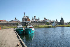 Solovetsky Monastery Stock Images