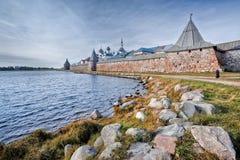 Solovetsky monastery Royalty Free Stock Photography