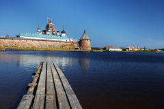 Solovetsky monastery Royalty Free Stock Photography