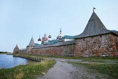 Solovetsky monastery Stock Image