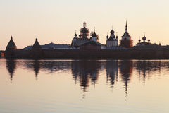 Solovetsky monastery Royalty Free Stock Photo