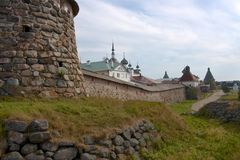 Solovetsky monastery, Russia Royalty Free Stock Photography
