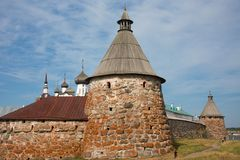 Solovetsky monastery, Russia Stock Image
