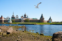 Solovetsky monastery Royalty Free Stock Photos