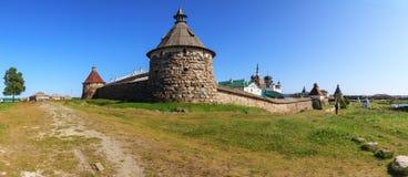 Solovetsky (Spaso-Preobrazhensky) monastery, Russia Royalty Free Stock Photos