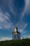 Solovetsky Spaso-Preobrazhensky Transfiguration Monastery, Solovki Island, Russia. Chapel Of Constantine At Background Of Clouds V Royalty Free Stock Photography