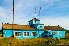 Solovki island, airport Royalty Free Stock Images