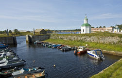 Solovki island, Russia Royalty Free Stock Images