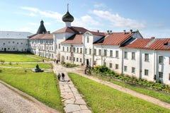 Solovki monastery Stock Photography