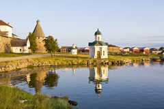 Solovki monastery, Russia Stock Photo