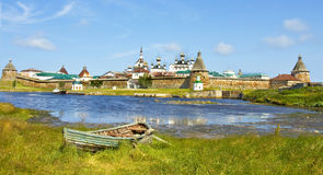 Solovki, monastery Stock Photo