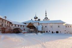 Solovki monastery Royalty Free Stock Photo