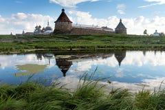 Solovki. Spaso-Preobrazhenskiy solovetsky monastery, Karelia, Ru Royalty Free Stock Image