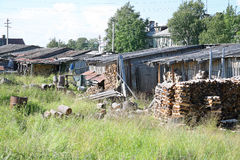 Solovki,  way of life Stock Images