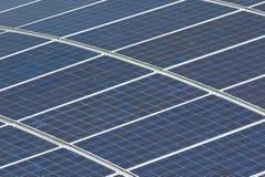 solpaneler Arkivbild