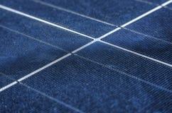Solpaneler för hög effektivitet royaltyfri foto