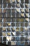 Solpaneler - reflexioner till och med vatten Arkivbilder