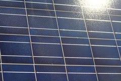 Solpaneltextur Arkivbild