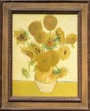 Solrosor Vincent van Gogh arkivbild