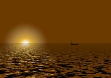 solsken Arkivbild
